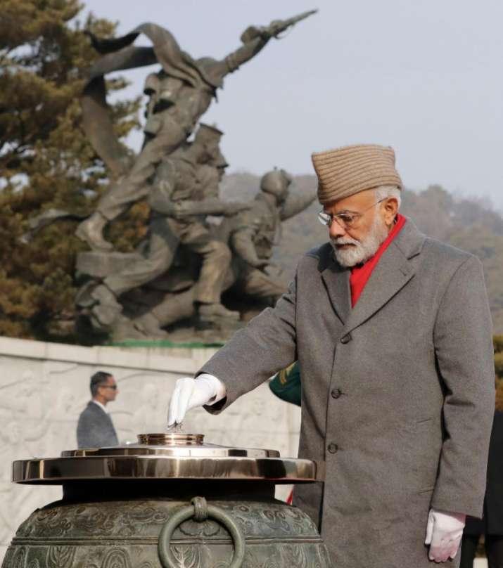 PM Narendra Modi in South Korea