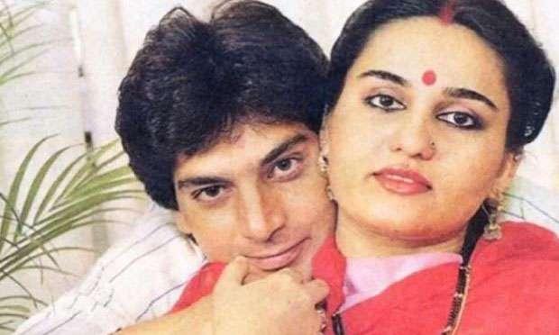 Mohsin Khan and Rina Roy