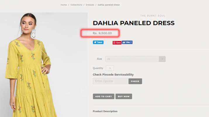 Sara Ali Khan maxi dress