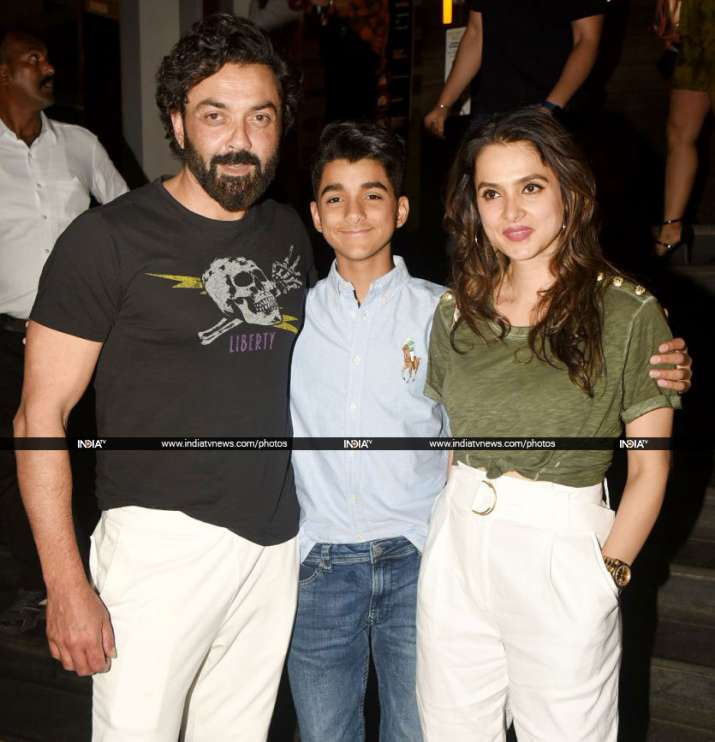 Bobby Deol with family