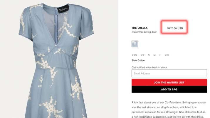 The Luella dress