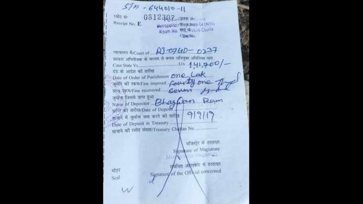 ट्रैफिक नियमों को लेकर सख्त दिल्ली पुलिस, ओवरलोड ट्रक का कटा 1 लाख 41 हजार रुपए का चालान