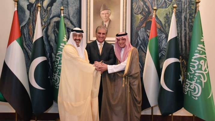 UAE, Saudi foreign ministers in Pakistan to calm tensions over Kashmir | Twitter