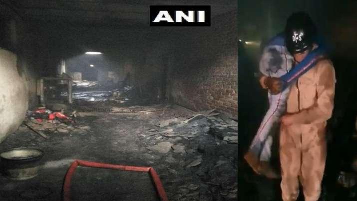 Delhi Fire