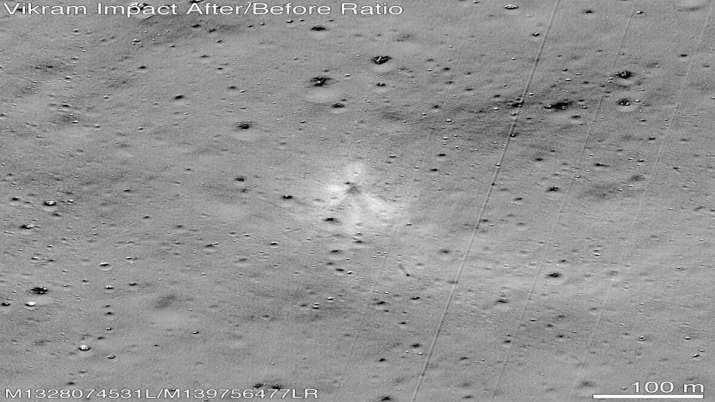 मिल गया चंद्रयान-2 का विक्रम लैंडर, NASA ने ट्वीट की तस्वीर