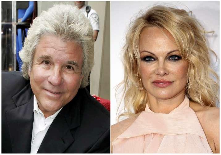 Pamela Anderson and john peters marries