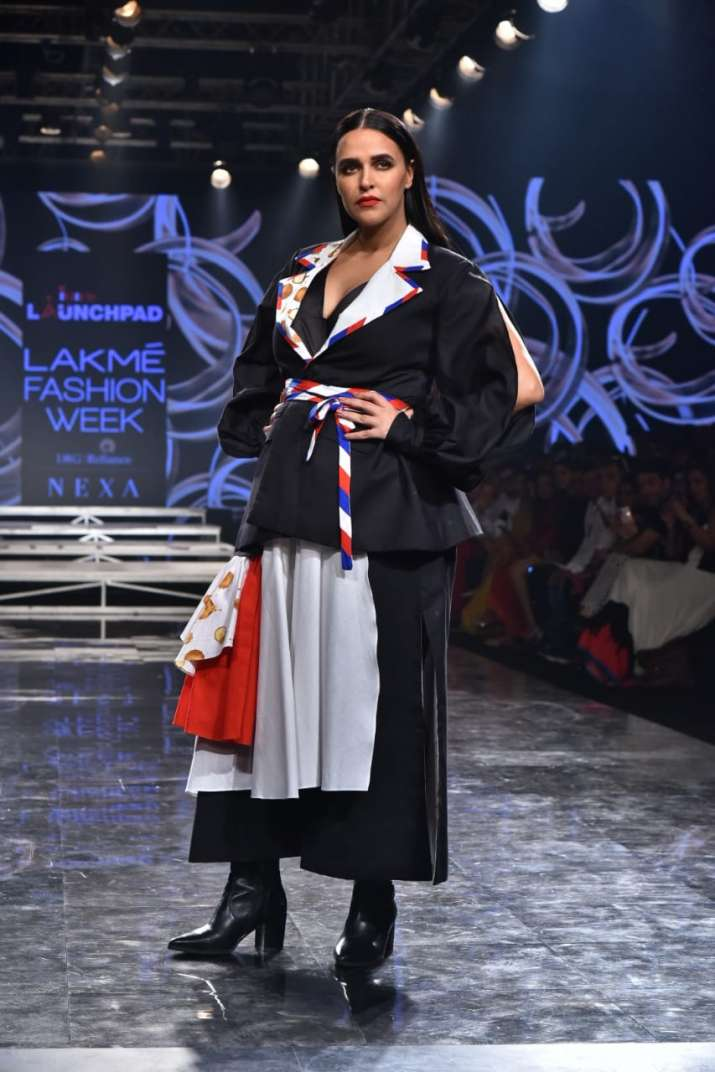 Lakme fashion week, neha dhupia