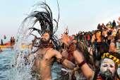 Kumbh Mela 2019: From chanting 'Har Har Gange' to taking sacred baths, people welcome 50-day religio- India TV