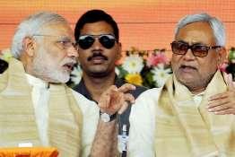 Narendra Modi and Nitish Kumar | PTI- Khabar IndiaTV