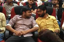 <p>kanhaiya kumar and...- India TV