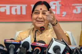 Sushma Swaraj have made up my mind not to contest next elections- India TV