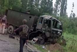 Pulwama Army Convoy attacked- India TV