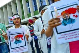 Doctors on a nation-wide strike on Monday | Representational PTI- India TV
