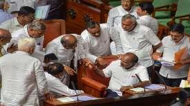 Karnataka Chief Minister H D Kumaraswamy - India TV
