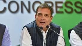 Rahul Gandhi demands PM Modi's reply on Trump's Kashmir statement- India TV
