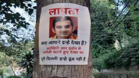 <p>Gautam Gambhir missing posters...- India TV