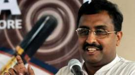 Need to start political engagement in Valley: Ram Madhav- India TV