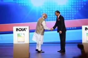 PM Modi on Robert Vadra, Sonia Gandhi and P Chidambaram during his interview at India TV- India TV