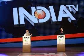 PM Modi on India TV with Rajat Sharma- India TV