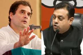 Rahul Gandhi and Sambit Patra- India TV