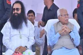 Haryana Government did not decided yet on Parole application of Ram Rahim says CM Manohar Lal - India TV