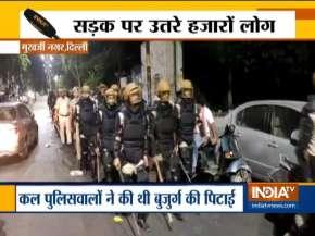 Delhi Mukharjee nagar- India TV