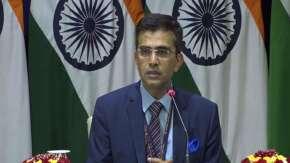 MEA spokesperson Raveesh Kumar- India TV