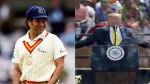 ICC trolls Donald Trump for calling Sachin Tendulkar's name wrong- India TV