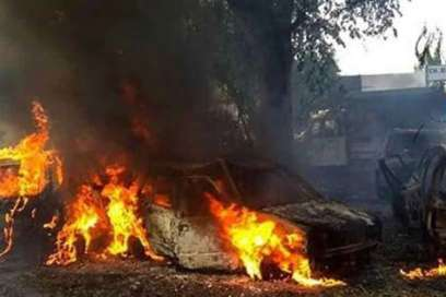 Bulandshahr violence: Nadeem, Mahbub Ali and Azhar charged under NSA in cow slaughter case | PTI Fil- India TV