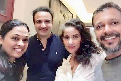 Manisha Koirala, Vivek Mushran- Khabar IndiaTV