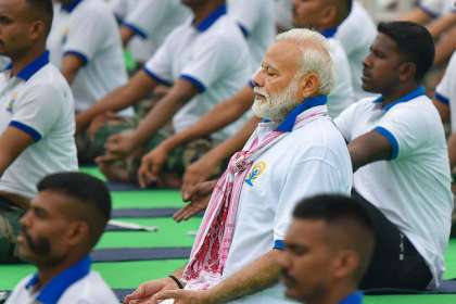 Pm Modi, yoga day- India TV