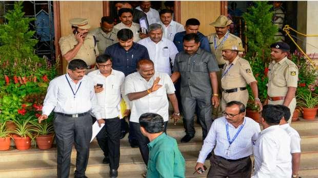 Karnataka assembly adjourned till Friday- India TV