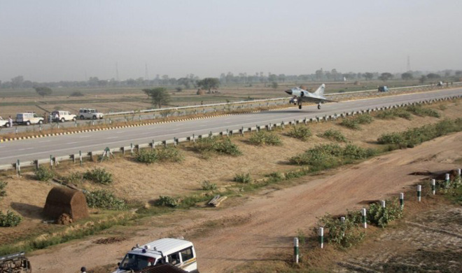agra lucknow expressway - India Tv