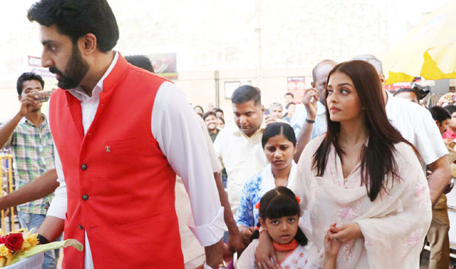 Aishwarya Rai Bachchan And Abhishek Bachchan - India Tv