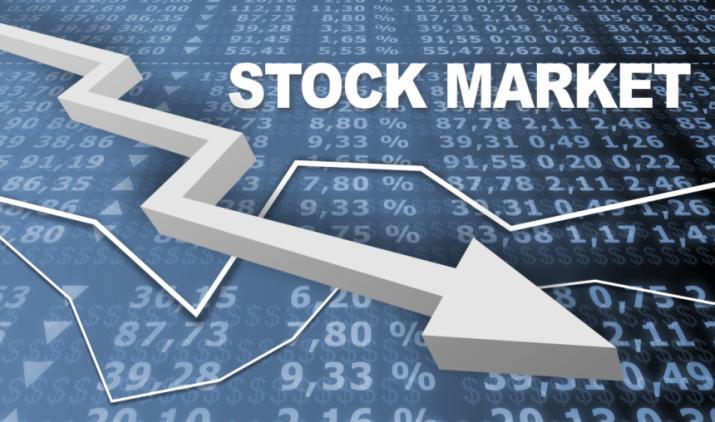 हफ्ते के पहले दिन शेयर बाजार में गिरावट, सरकारी और निजी बैंक में भारी बिकवाली- India TV Paisa