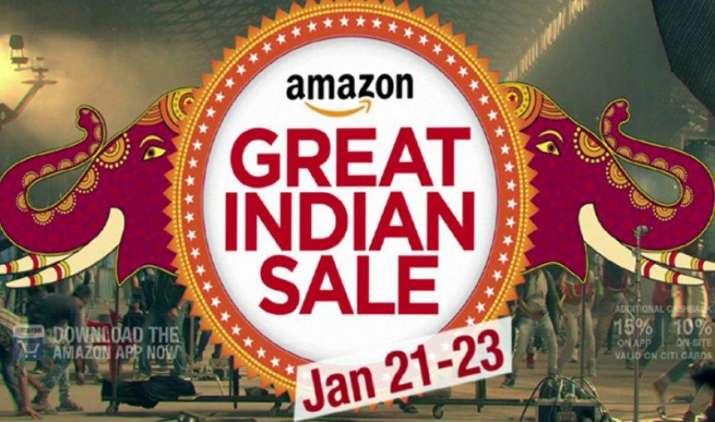 अमेजन की 'ग्रेट इंडियन सेल' 21 जनवरी से होगी शुरू, इंटरनेशनल ब्रांड्स पर मिलेगी 35 फीसदी तक छूट- India TV Paisa