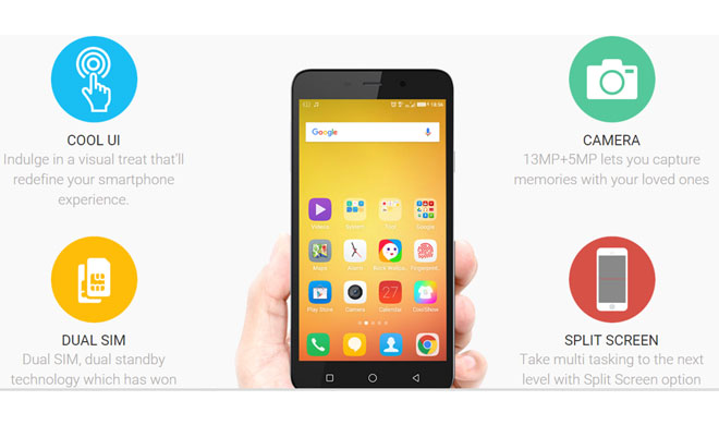 Coolpad Note 3 has finger print scanner and more features- India TV