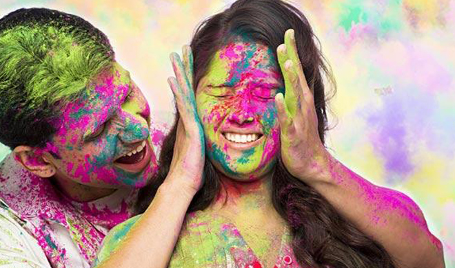 know harmful effects of colours in holi- India TV
