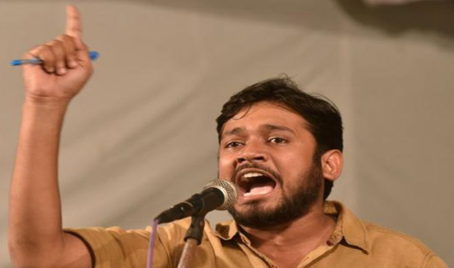 Slippers thrown at Kanhaiya in Hyderabad, two arrested- India TV