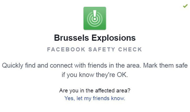 Facebook safety check not activated after Brussels attacks- India TV