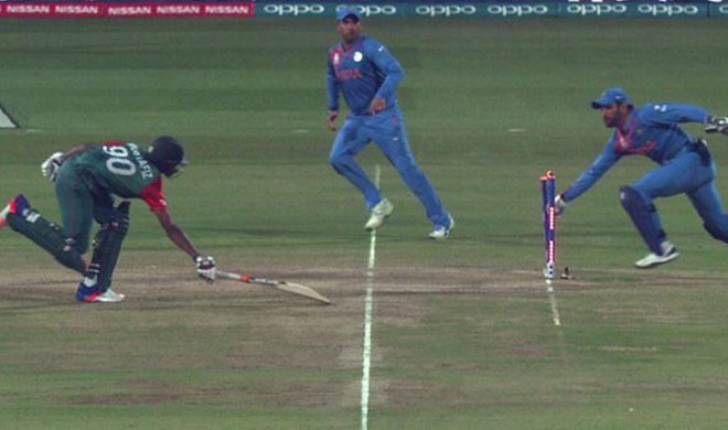 RUN OUT- India TV