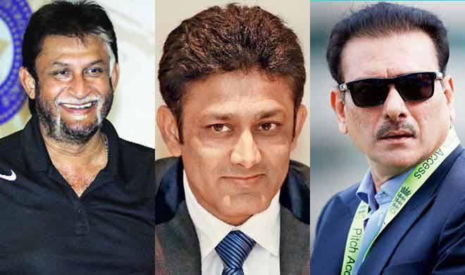 sandeep patil, anil kumble, ravi shastri- India TV