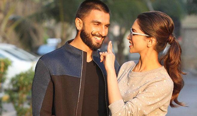 Deepika Padukone with Ranveer Singh- India TV