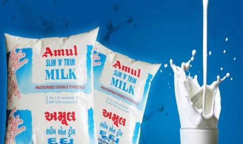 अमूल दूध प्रति थैली एक रुपए हुआ महंगा