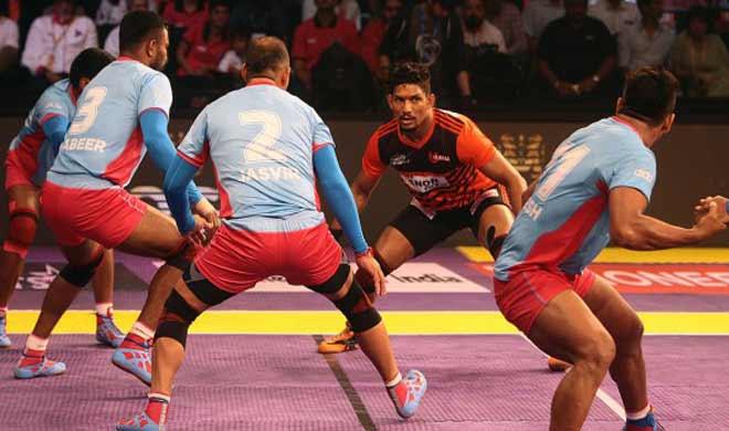u mumba vs jaipur pink panthers- India TV