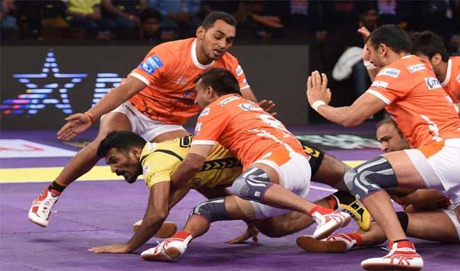 puneri paltan vs telugu titans- India TV