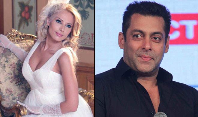 Salman Khan with iulia Vantur