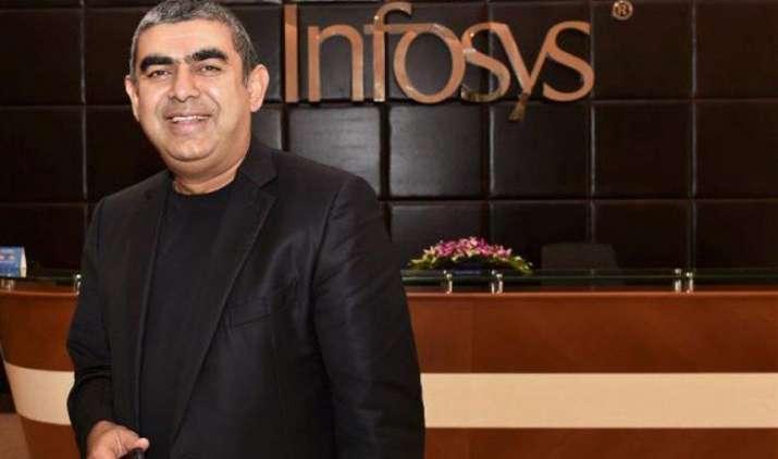 FY18 Q1 Result: इंफोसिस के अनुमान से बेहतर नतीजे, मुनाफा बढ़कर 3,483 करोड़ हुआ, 1.5 फीसदी चढ़े कंपनी के शेयर- India TV Paisa