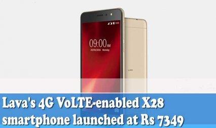 Lava ने लॉन्च किया सस्ता और 4G VoLTE सुविधा से लैस X28 स्मार्टफोन- India TV Paisa