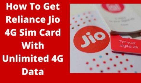 Reliance Jio का फ्री में 4G सिम कार्ड पाने का सबसे आसान तरीका, बस करना होगा आपको ये काम- India TV Paisa